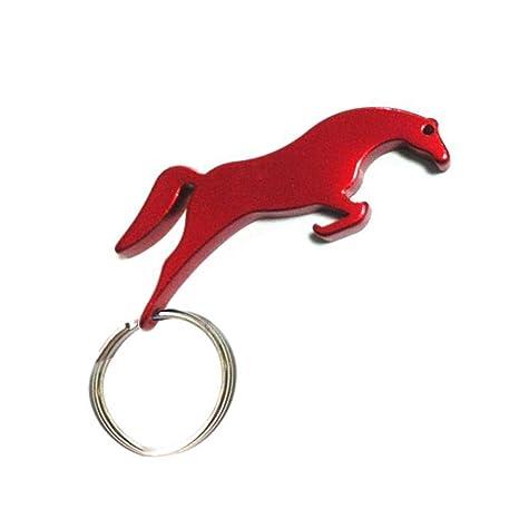 Amazon.com: swatom caballo forma cadena de aleación de ...