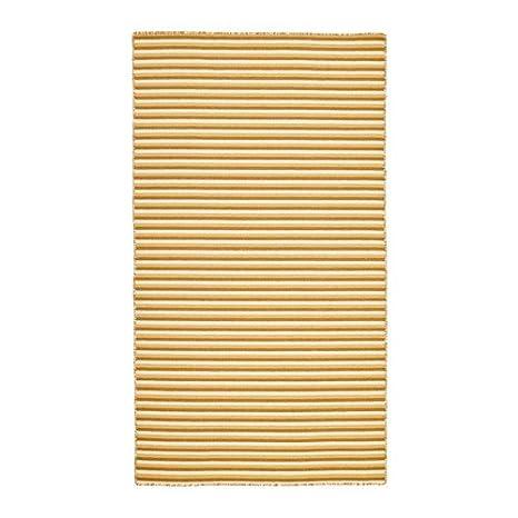 Ikea Vestbirk - Tappeto, tessuto a mano/giallo: Amazon.it: Casa e cucina