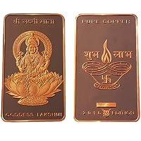 Adiman Laxmi MATA Copper Bullion Bar Coin Proof Quality Limited Edition