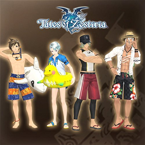 Zestiria Costumes (Tales Of Zestiria - Seaside Resort Costume Set (Male) - PS3 [Digital Code])