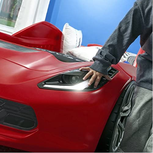 Step2 Corvette Z06 Toddler Bed to Twin Bed 4
