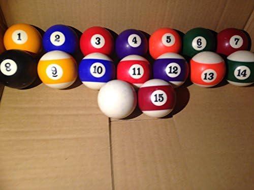 Riley American juego de bolas de billar, delete: Amazon.es: Deportes y aire libre
