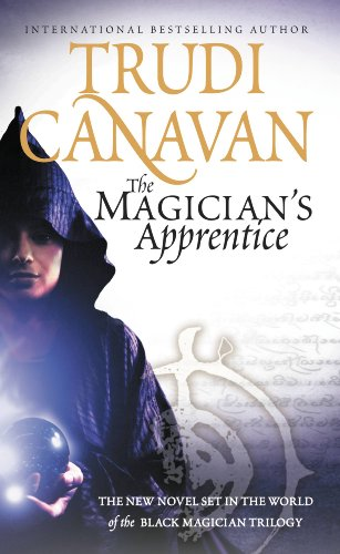 book cover of The Magician\'s Apprentice