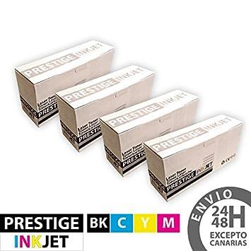 Pack de 4 x Cartuchos de Tóner Compatibles Brother TN245 / TN241 ...