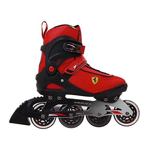 Ferrari Inline Skate Roller Skating Red/Black EU43/US Size 9.5 by MESUCA