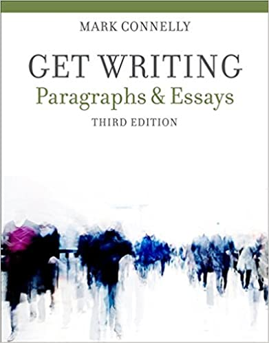 Get writing paragraphs and essays 3rd edition