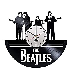 Home & Crafts Beatles Handmade Vinyl Record Wall Clock - Get Unique Living Room Garage Wall Decor - Gift Ideas Friends - Rock Band Unique Modern Art
