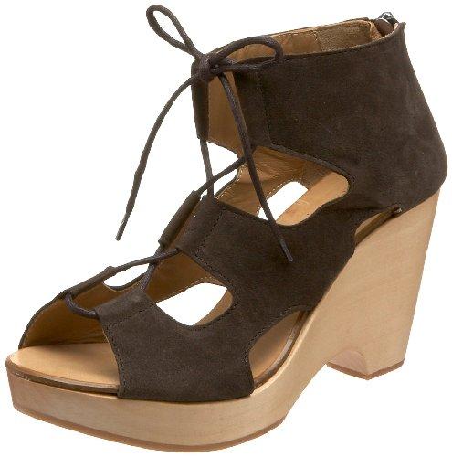 Nara Shoes Womens Micio Clog Lagos Fumo