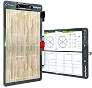 Champion Sports Volleyball Coach Game Strategy Marker Clipboard