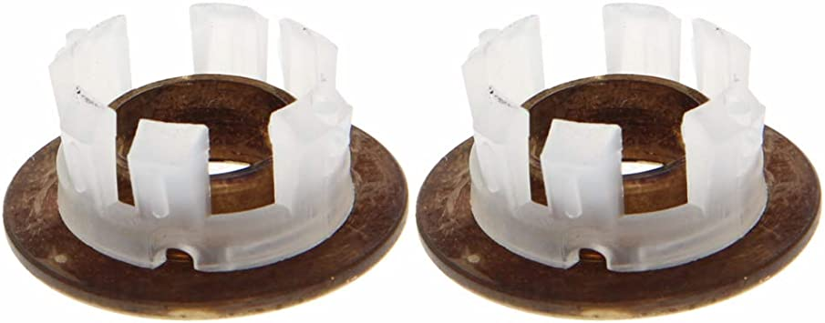 MroMax Brass Overflow Hole Round Cover Idea for Bathroom Sink Basin Trim Black 1PCS