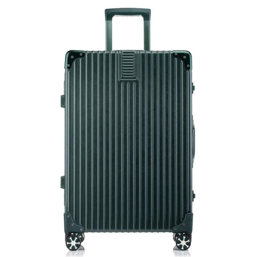 移動すること容易なスーツケースのトロリー箱360°4の普遍的な車輪。 防水、通気性、耐摩耗性、盗難防止、雷保護、耐衝撃 B07TG8WXXT Green 35*23*54cm