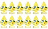 Little Trees Air Fresheners, Singles, Lemon Grove (Pack of 12)