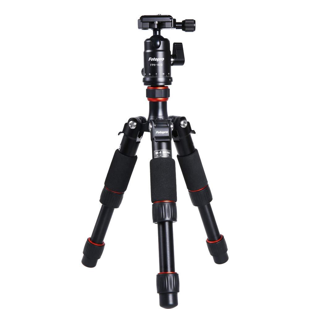 FGKING Mini trípode portátil de Viaje con rótula para cámara ...
