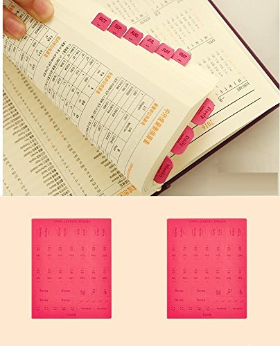 Chris Wang Adhesive Calendar Appointment Scrapbook product image