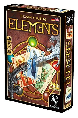 Pegasus Spiele 18280G - Elements, Kartenspiele