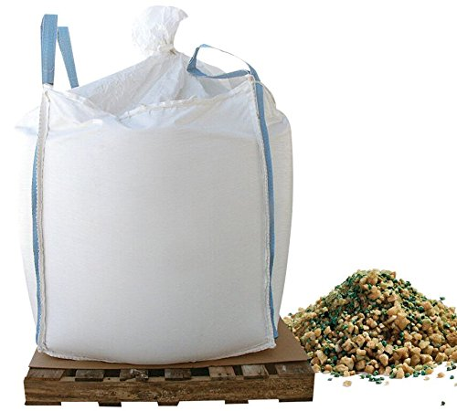 Bare Ground CSSLGP-2000 Coated Granular Ice Melt with Slip Grip Traction Granules in Super Sack, 2000 lb by Bare Ground