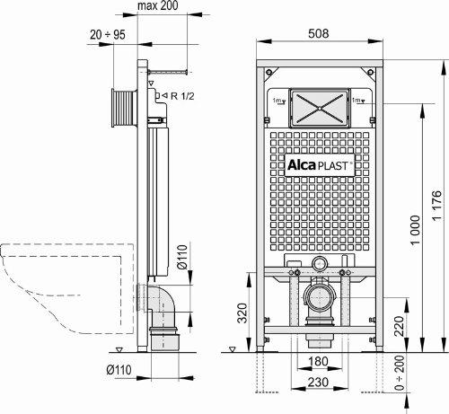 Höhe Wc unterputzspülkasten wc spülkasten vorwandelement inkl drückerplatte