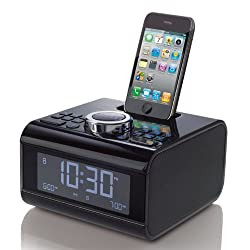 Cube Alarm Clock Radio for iPod and iPhone Devices