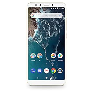 Unlocked GOLD Xiaomi Mi A2, 4GB 64GB, Dual SIM standby, Global Version, 5.5 inch Smartphone Android One, Dual Rear 12.0MP Camera Snapdragon 625