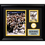 Frameworth Boston Bruins PhotoCard with 2011 Stanley Cup Net