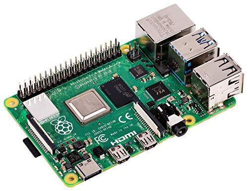 Raspberry Pi 4 Model B 2019 Quad Core 64 Bit WiFi Bluetooth (1GB)
