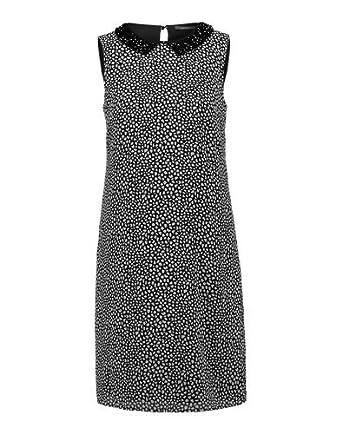 4705a1cb27cd03 Esprit Collection Kleid 'new fluid chiff' schwarz, Größe: Amazon.de ...