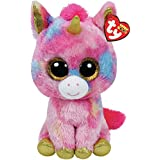 Ty Beanie Boo FANTASIA the COLORFUL UNICORN 10