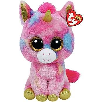 Amazon.com  Ty Beanie Boos - Fantasia The Unicorn (Glitter Eyes ... db214b1f772
