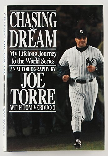 "JOE TORRE SIGNED ""CHASING THE DREAM"" HARDCOVER BOOK w/ JSA COA YANKEES DODGERS +"
