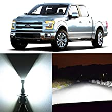 Alla Lighting Super Bright H13 White LED Bulbs Dual High Low Beam Headlight Conversion Kits for 2004~2014 Ford F150 F250 F350 F450 F550/ 2005~17 F-250 / F-350/ F-450 / F-550 Super Duty