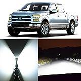 ford headlights f150 - Alla Lighting 2pcs Super Bright H13 White LED Bulbs Dual High Low Beam Headlight Conversion Kits for 2004~2014 Ford F150 F250 F350 F450 F550/ 2005~17 F-250 / F-350/ F-450 / F-550 Super Duty