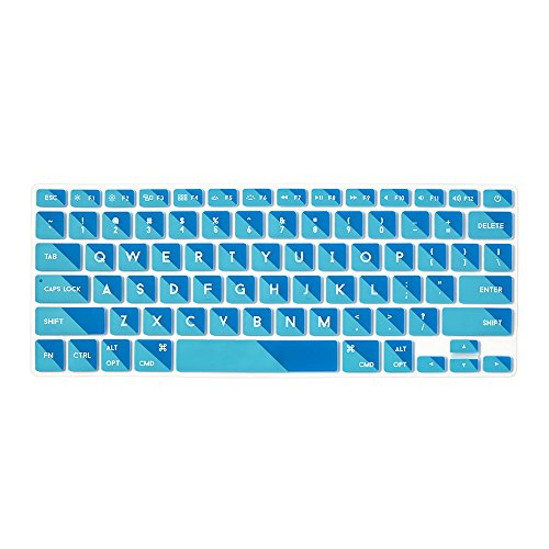 Two Tone Flap (Flapjacks Stylish Designer Laptop Keyboard Cover for Apple MacBook Keyboard in 2 Tone Teal)