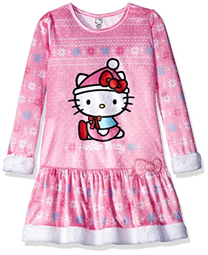 - Hello Kitty Big Girls' Sleep Gown, Pink, Small
