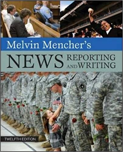 news reporting and writing 12th mencher isbn 978 0 07 351199 3
