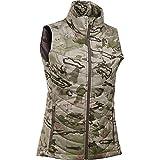 Under Armour Frost Puffer Vest - Women's Ridge Reaper Camo Barren / Metallic Bronze Small