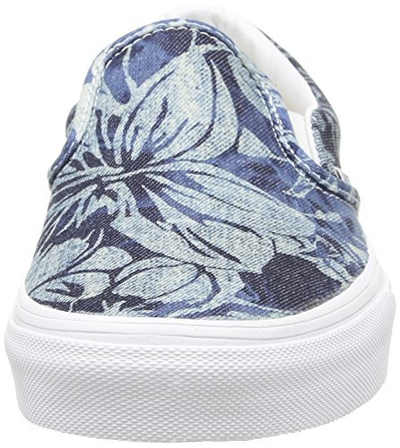 Unisex Zapatilla Baja Vans on Multicolor Tropical Indigo White Blue Classic Slip Adulto True FwwRaxXqt