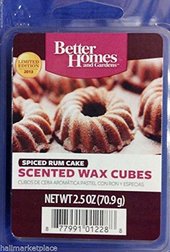 Amazoncom Better Homes and Gardens Scented Wax Cubes Spiced Rum