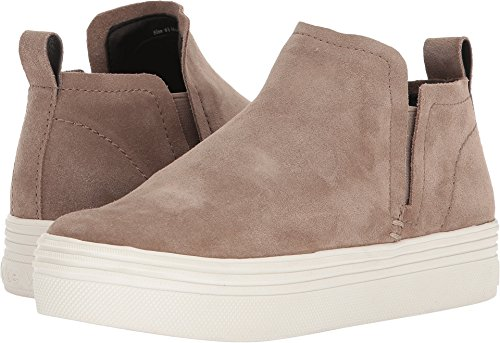 Dolce Vita Women's Tate Sneaker, Taupe Suede, 7.5 M US