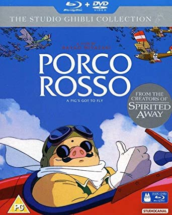 Amazon com: Porco Rosso [Blu-ray]: Hayao Miyazaki: Movies & TV