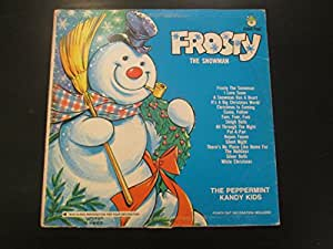 The Peppermint Kandy Kids Frosty The Snowman Vinyl Lp