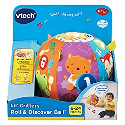 VTech Baby Lil\' Critters Roll and Discover Ball