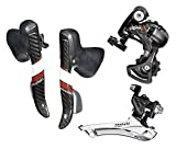 Microshift Carbon Arsis Double 11 Speed Group Set (Hidden Cables)compatible For shimano derailleur