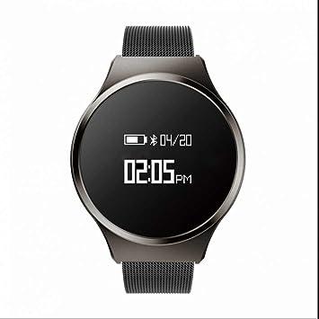 SmartWatch reloj inteligente bluetooth Fitness pulsera Medición, frecuencia cardíaca, Configuración fácil, Activity Tracker