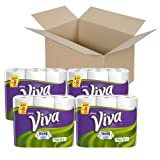 Viva Paper Towels, Choose-a-Size, White, Big Roll Super Saver Pack- 6 ct (Pack of 8)