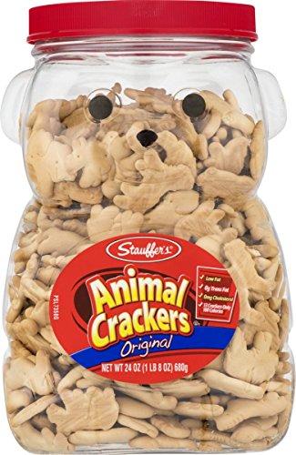 Stauffers Original Animal Crackers 24 oz. Bear Jug (2 Containers)