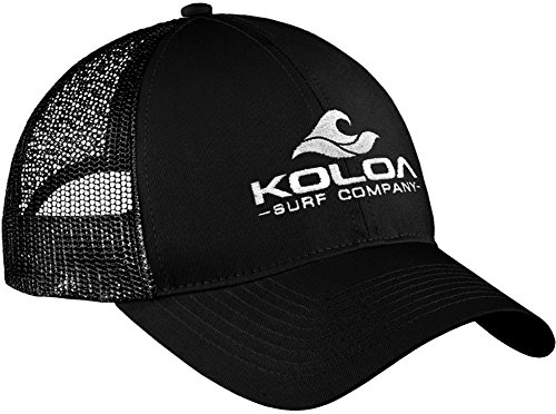 "Koloa Surf Wave Logo ""Old School"" Curved Bill Mesh Snapback Hats"