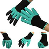 Garden Gloves With Plastic Claws For Digging Planting Garden accessories Household Safety Working Protective Gloves