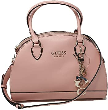 Guess Sherol Sac à Main Rose: : Bagages