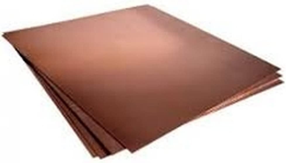 Amazon Com 16oz Copper Sheet 0 0216 24 Ga 3 X10 Unpolished Home Improvement