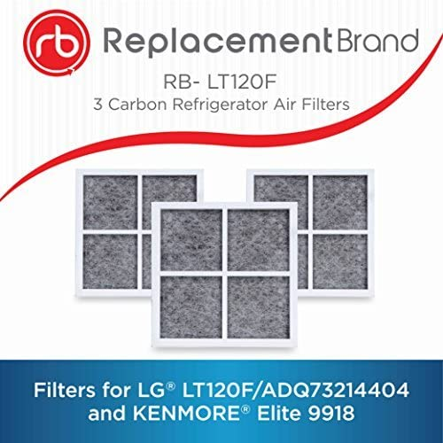 LG Refrigerator Air Filter LT120F ADQ73214404 3 Filters